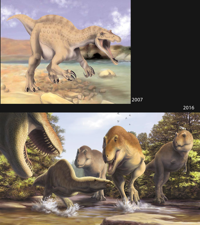 Paleoart From 2007 And 2016