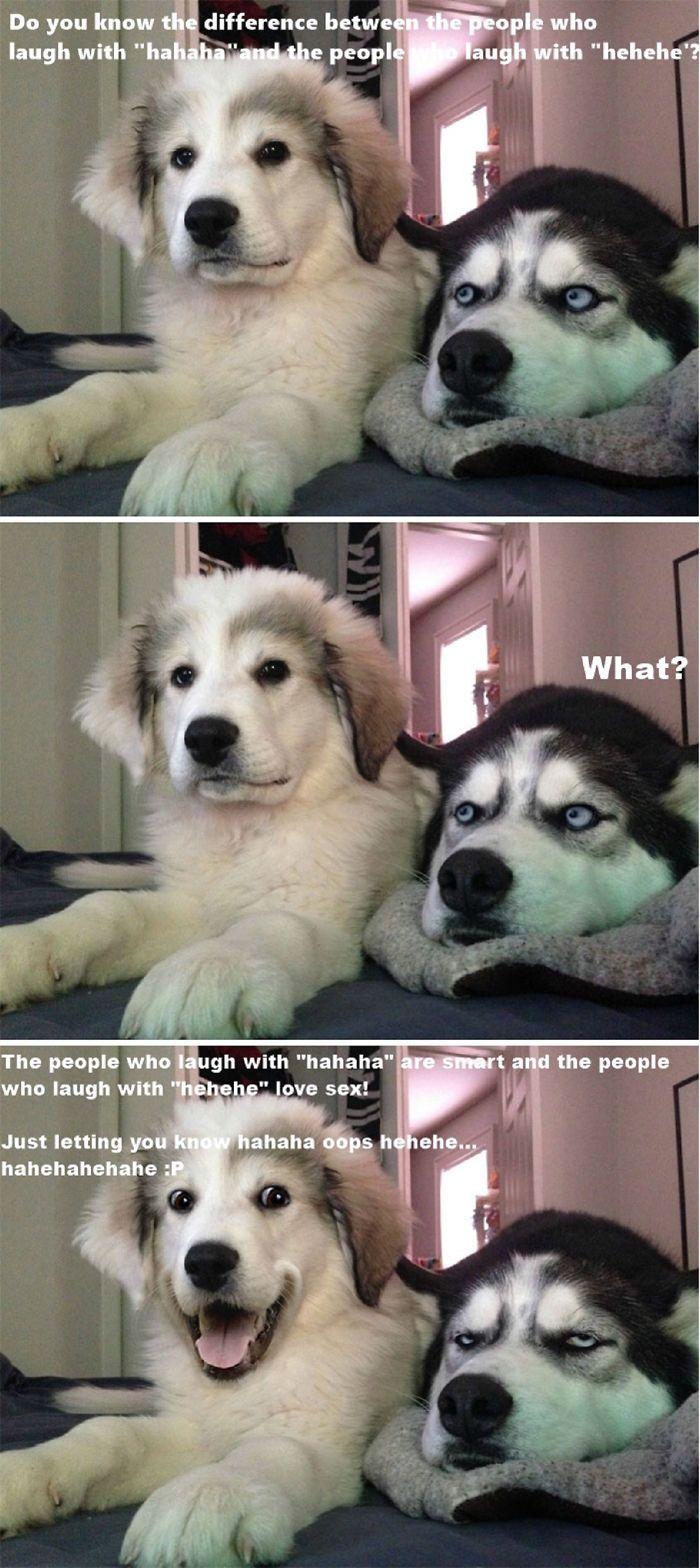 Hahaha Vs Hehehe!