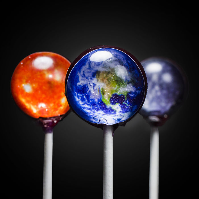 Solar System Lollipops Let You Lick The Surface Of The Sun
