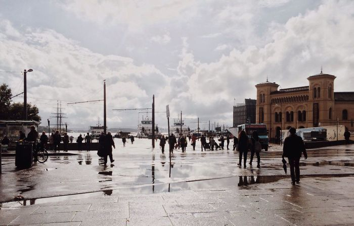 Oslo Painted By Rain