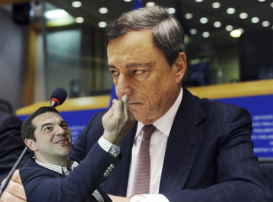The President Of European Central Bank Is Clearly Not Enjoying This