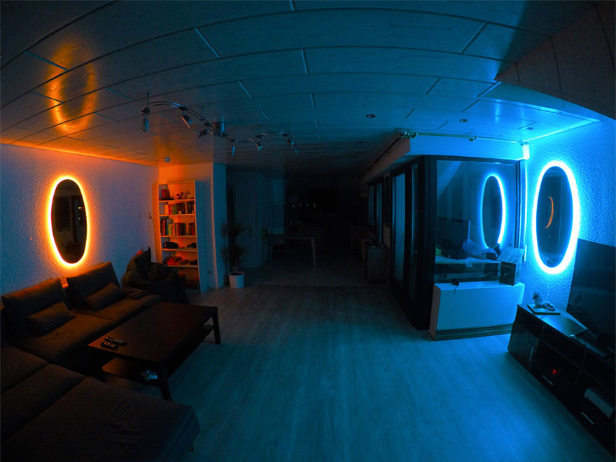 Portal Mirrors Are The Coolest Way To Decorate Your Room