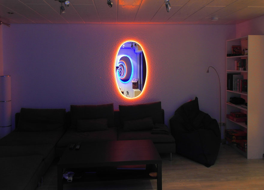 Portal Mirrors Are The Coolest Way To Decorate Your Room ...