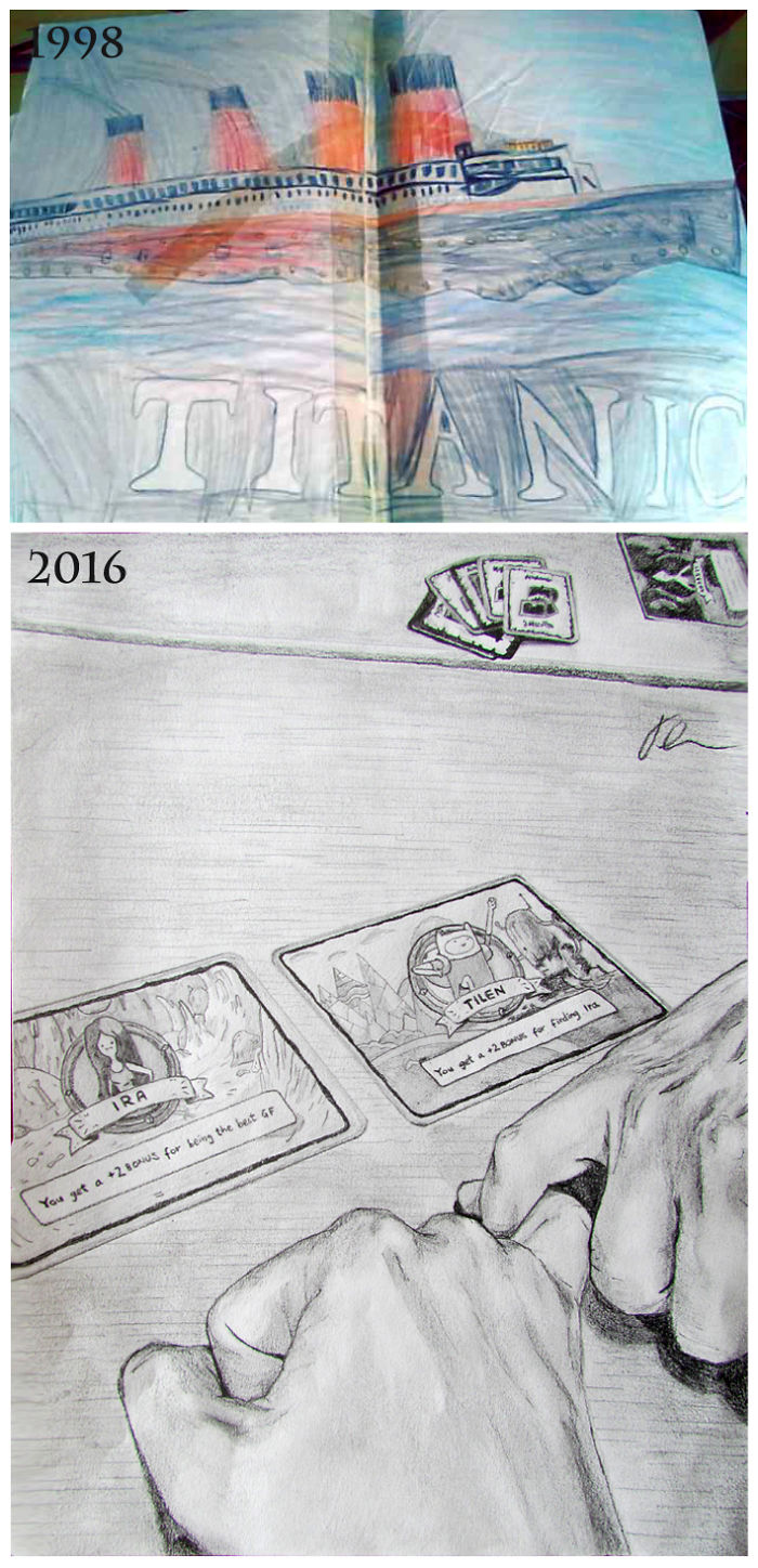 Changed The Ship's Windows For Other Details Through The Years.