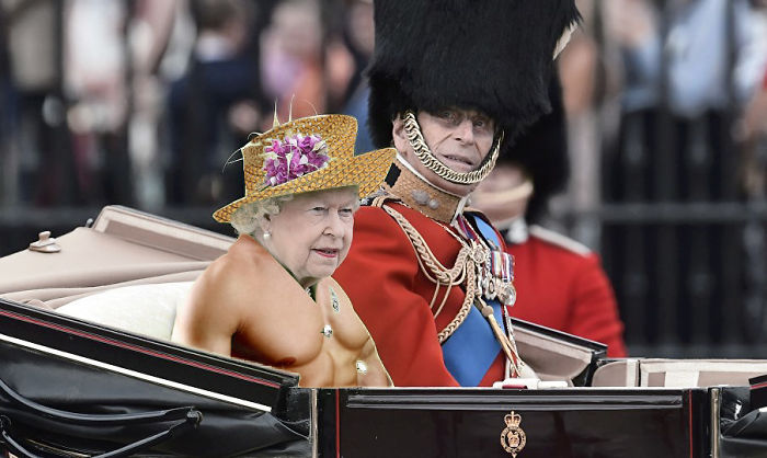 Who Knew The Queen Works Out A Lot