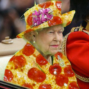 The Queen's 'Green Screen' Outfit Sparks A Hilarious Internet Reaction