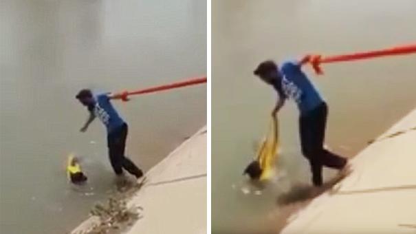sikh-man-removes-turban-save-drowning-dog-1