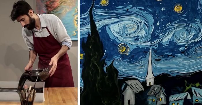 Image result for starry night on water