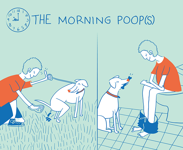 Life Of A Dog Dad In 10 Illustrations