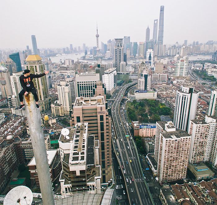 The Idea Of Climbing The 'Peak Of Shanghai' Was In My Head For A Long Time, So I Finally Did It