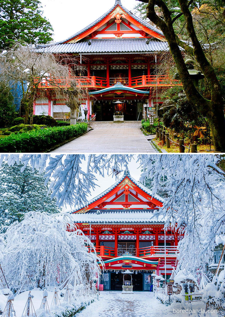 Natadera Temple, Komatsu, Japan