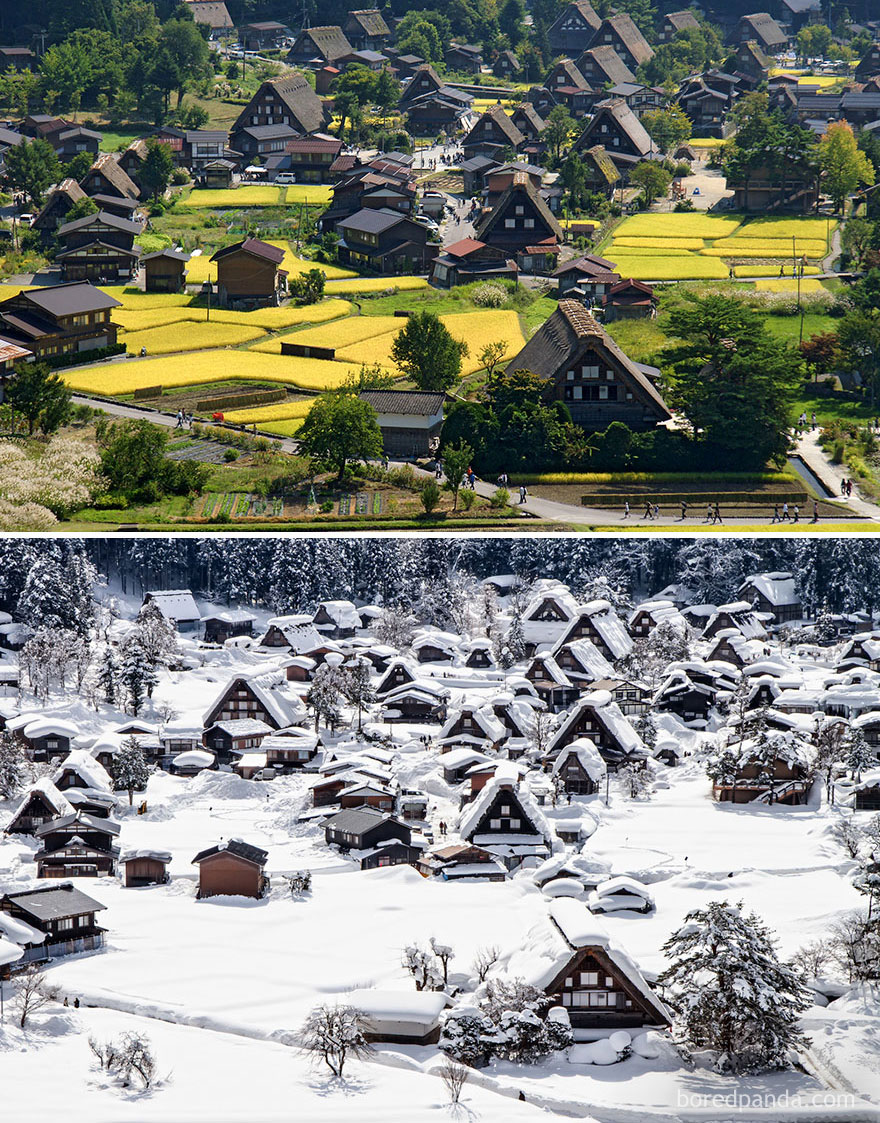 The Historic Village Of Shirakawa-Gō, Japan