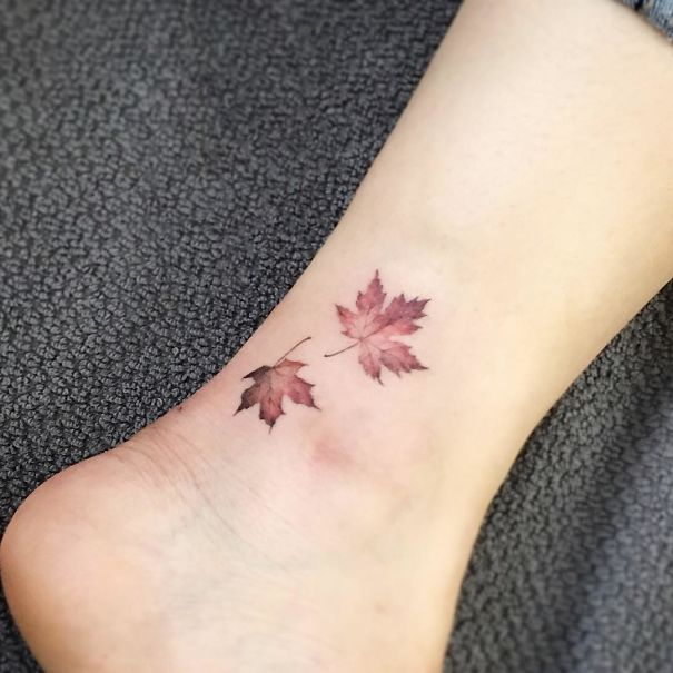 120 Tiny Foot Tattoo Ideas Showing Sometimes Less Is More Bored Panda