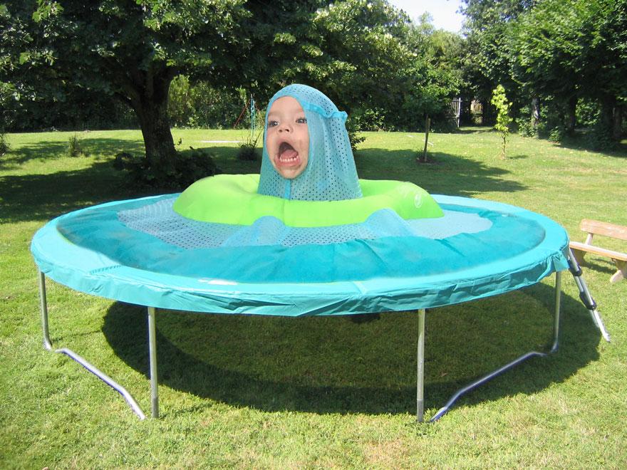 Trampoline Monster