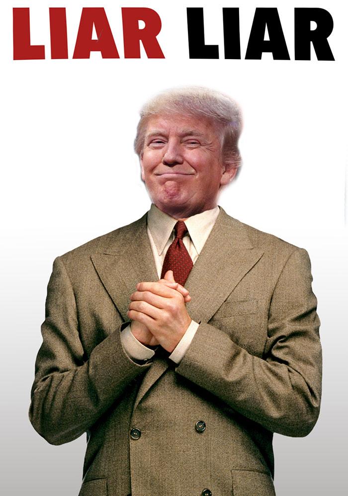 Donald Trump In Liar Liar