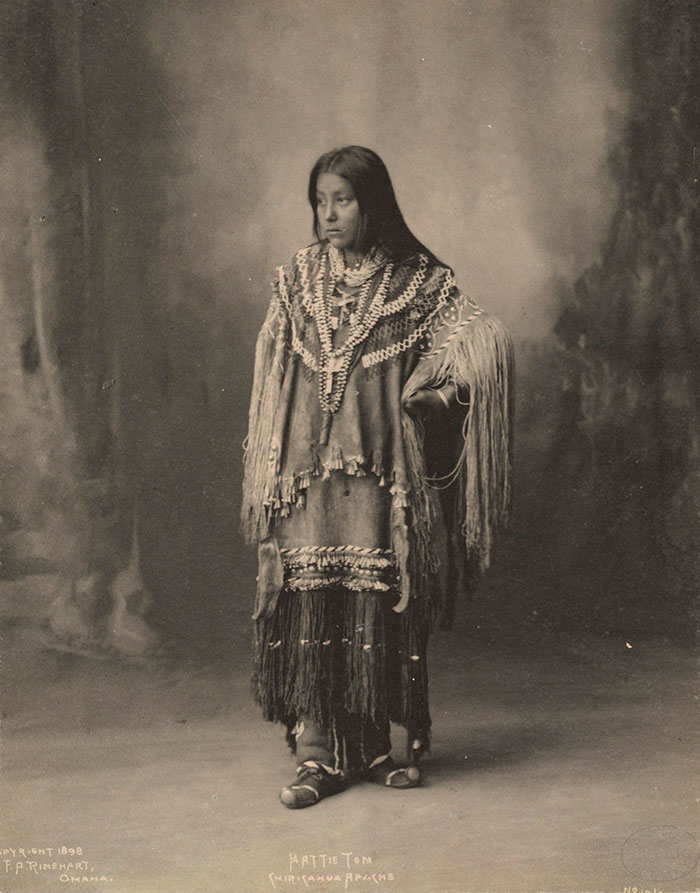 Hattie Tom, Chiricahua Apache, 1899, By Frank A. Rinehart