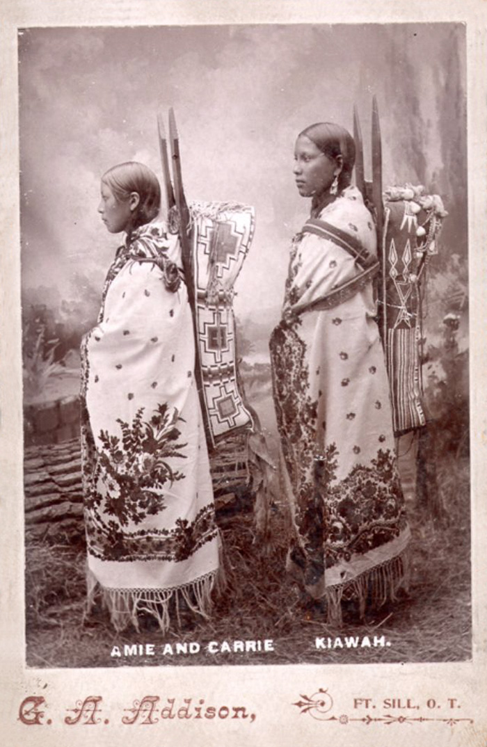 Amie And Carrie, Kiawah, By George A. Addison,1895