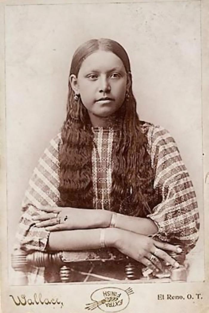 Comanche Girl, 1885