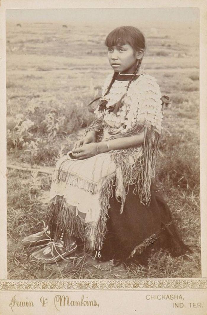Kiowa Girl, 1890