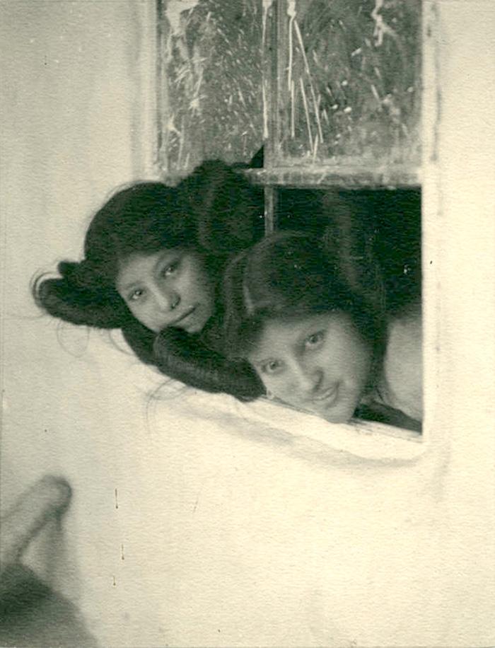 Hopi Girls, 1900, By Carl Werntz