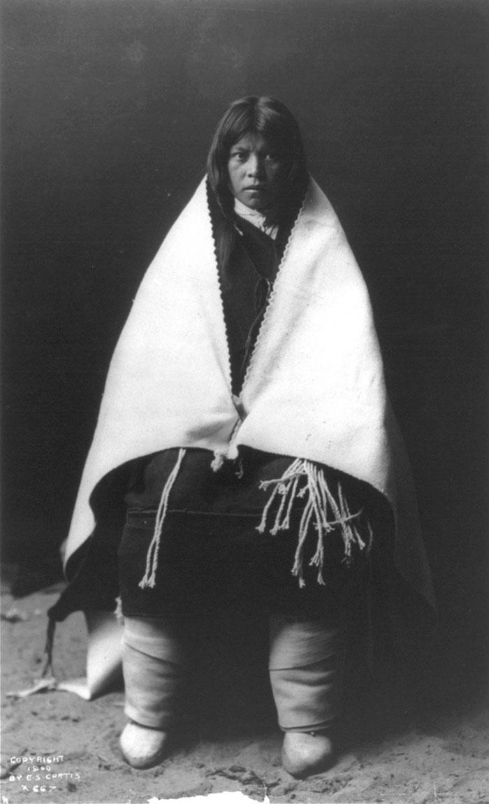Hopi Girl On Her Wedding Day, 1900