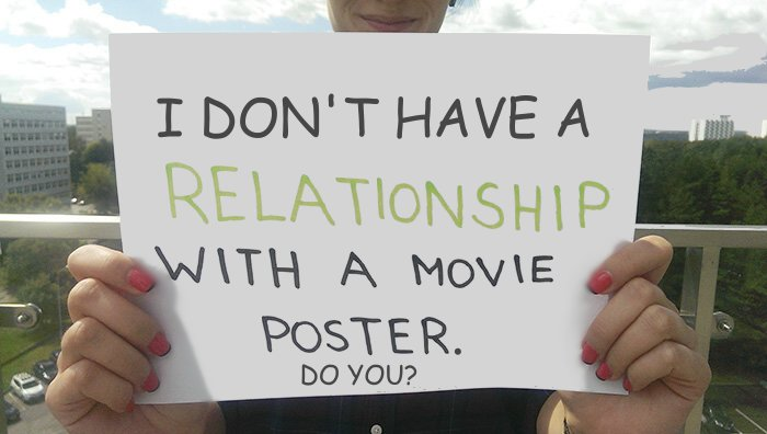 Who Has A Relationship With A Movie Poster?