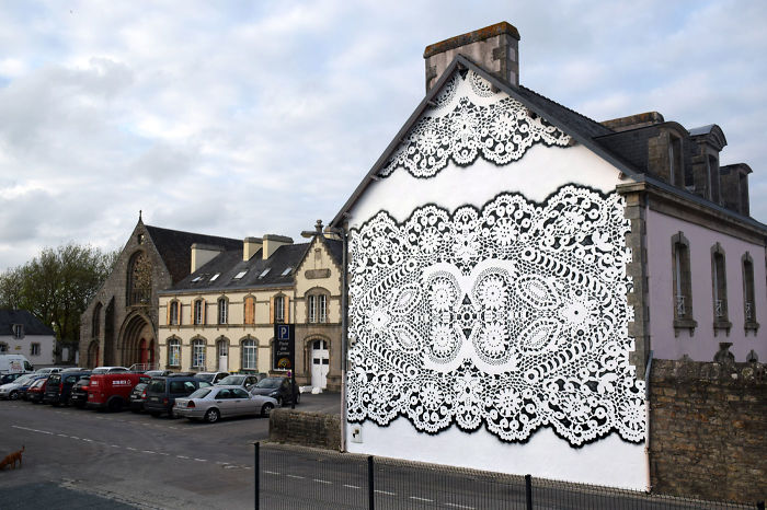 I Cover City Streets In Lace Street Art (Part 3)