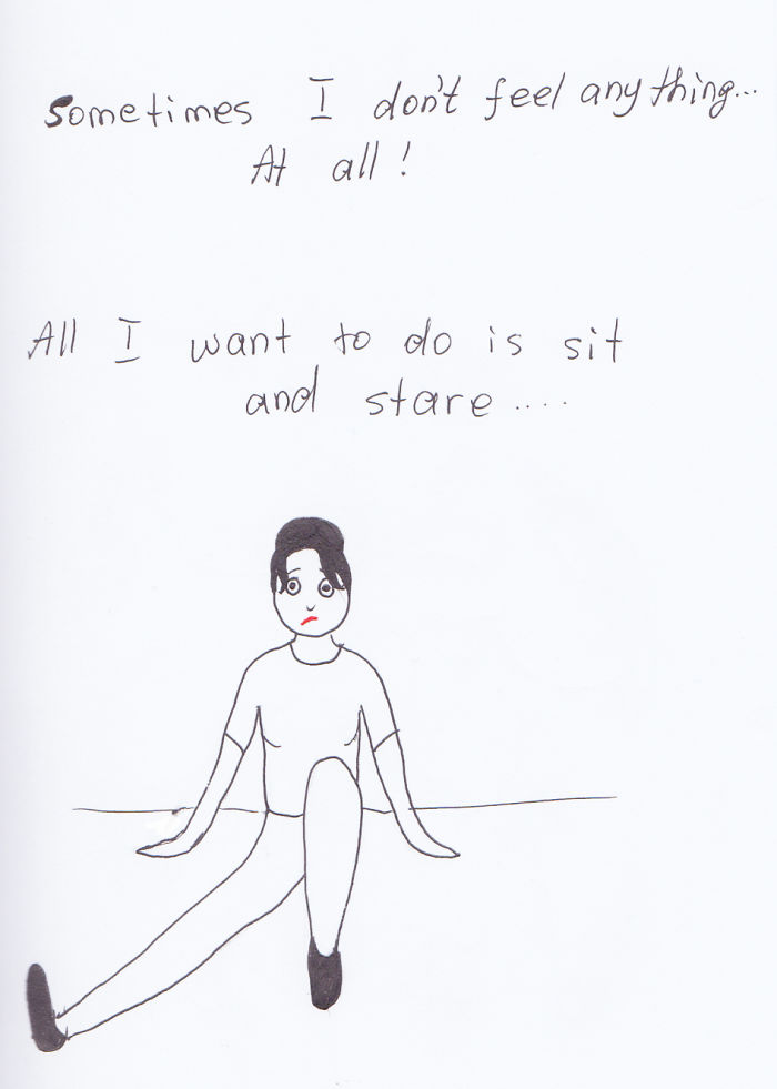 I Made Some Sketches About Being An Introvert