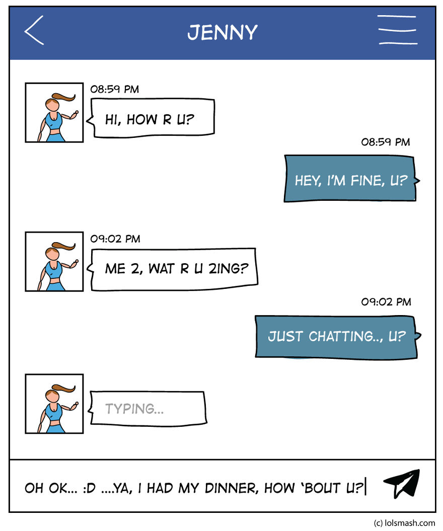 I Draw What It's Like To Be A Facebook/social Network Addict