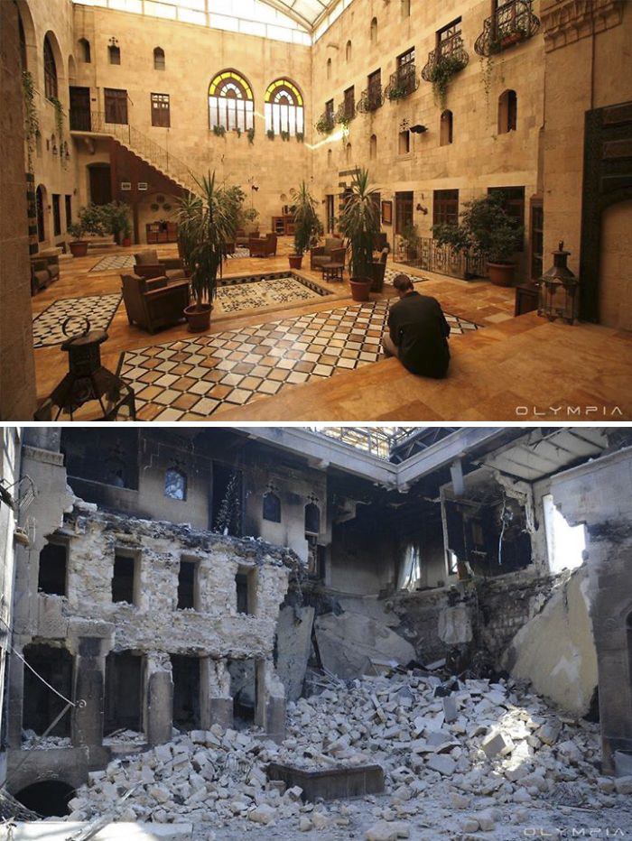 Syria pictures War, Syria in Pictures Before & After War