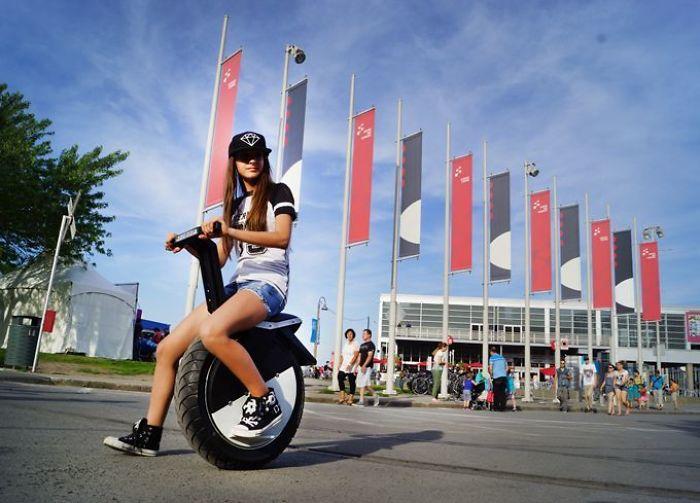 Motopogo One Wheeled Motorcycle