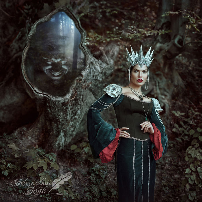 Snow White And The Seven Dwarfs (evil Queen)