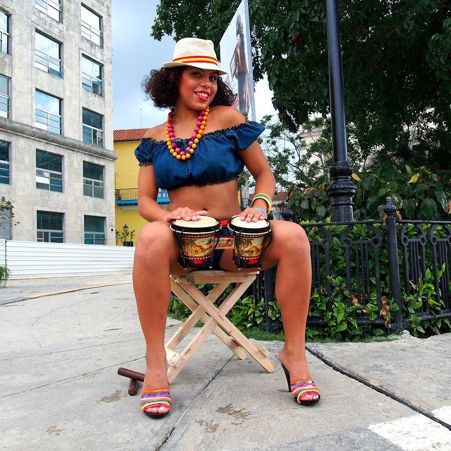 Carmen, 'La Quinceñera'. La Habana, Cuba