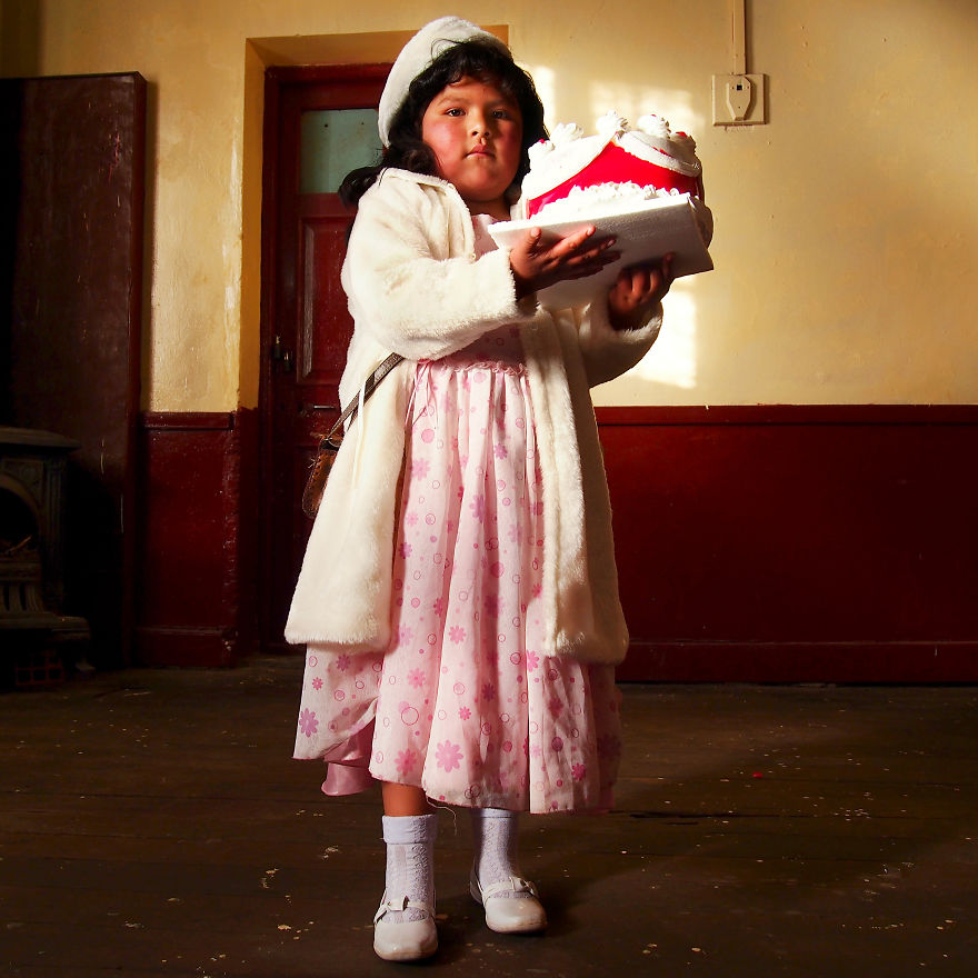 Lydia, Ready For The School Ball (No Parents Allowed!). Uyuni, Bolivia