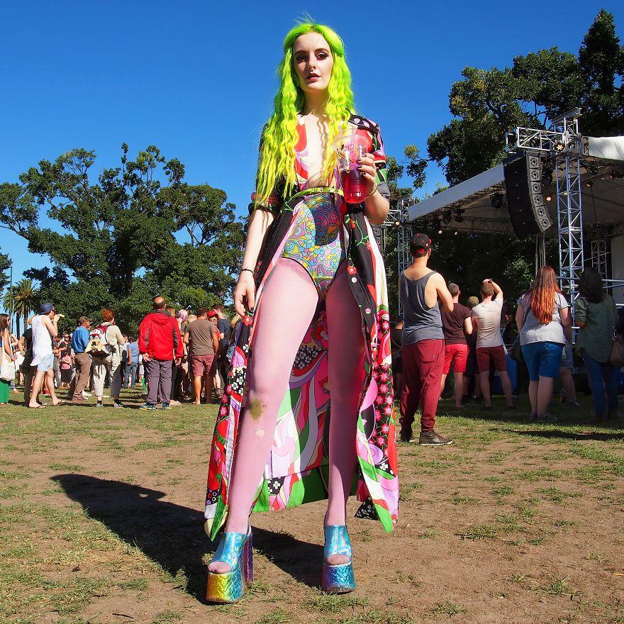 Aghata, Performance Artist, Midsumma Festival (Jan 2014). Melbourne, Australia