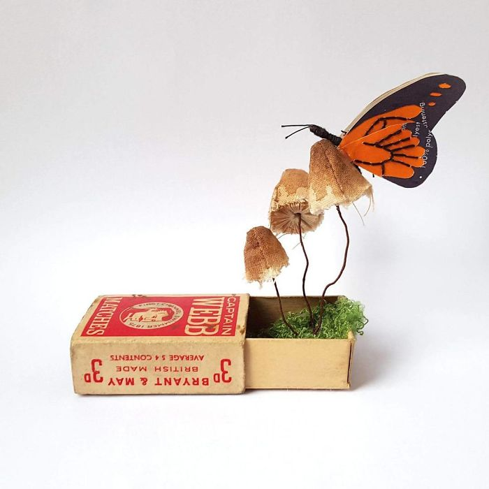 I Create Bugs, Butterflies, And Insects Using Recycled Paper, Wire ...