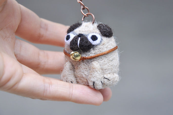 I Made A Perfect Keychain For The Pug Fans