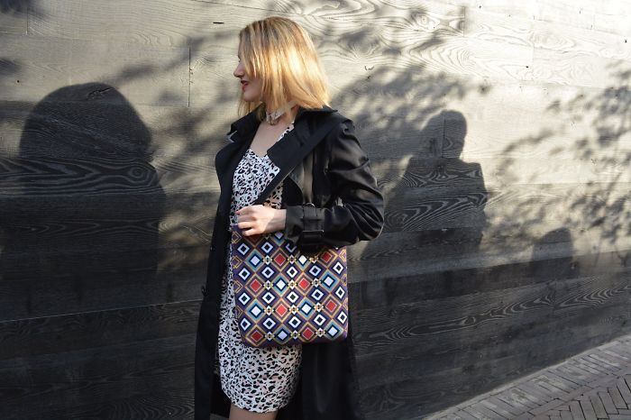 Geometric Tote Bag That Goes With Absolutely Everything