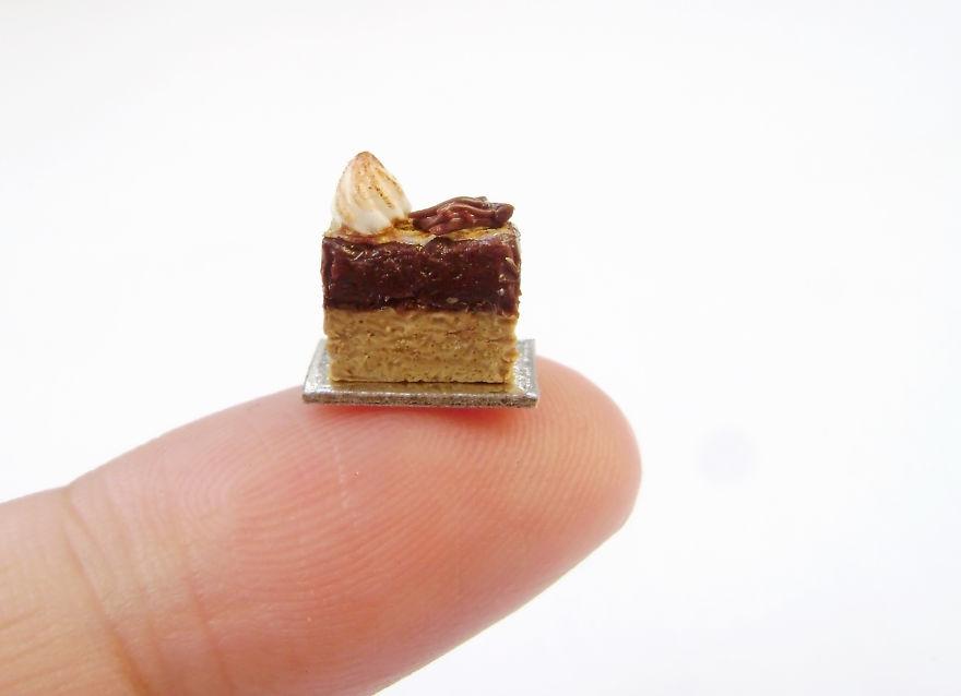 I Create Tiny Foods From Clay
