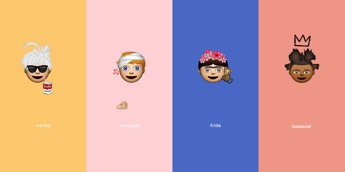 I Made Emojis Based On Famous Art And Artists.