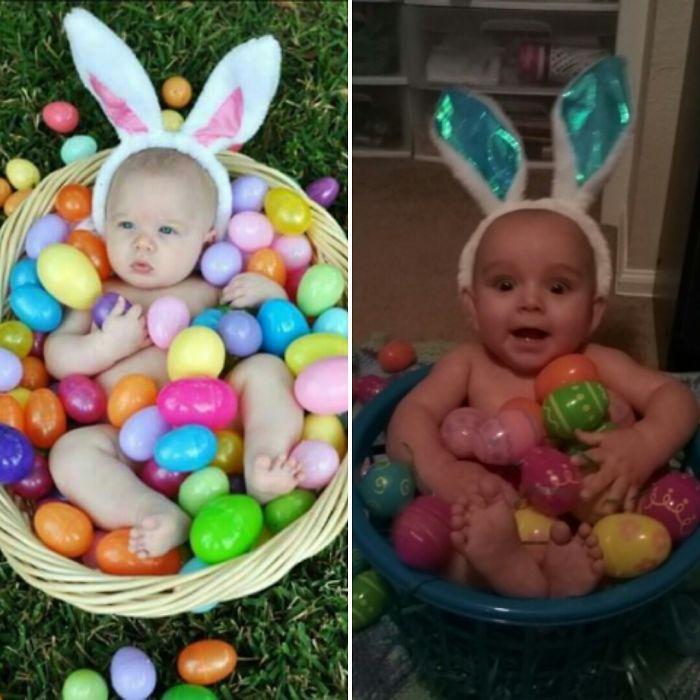 Easter Bunny Fail