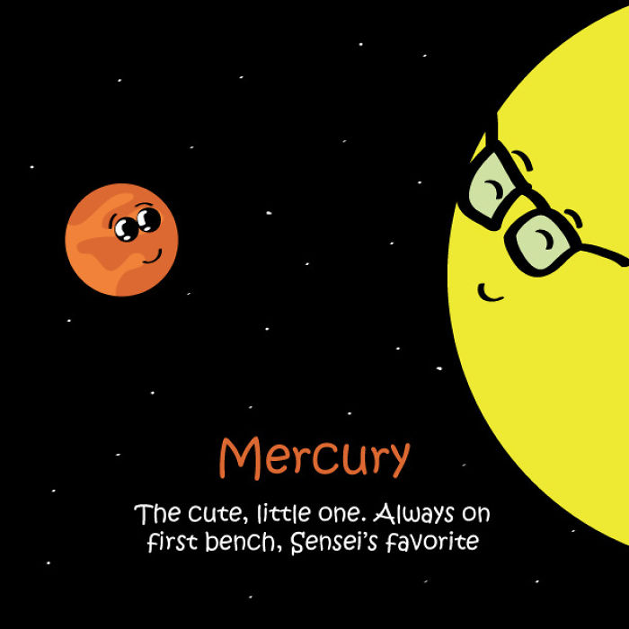 If Solar System Were A School Class
