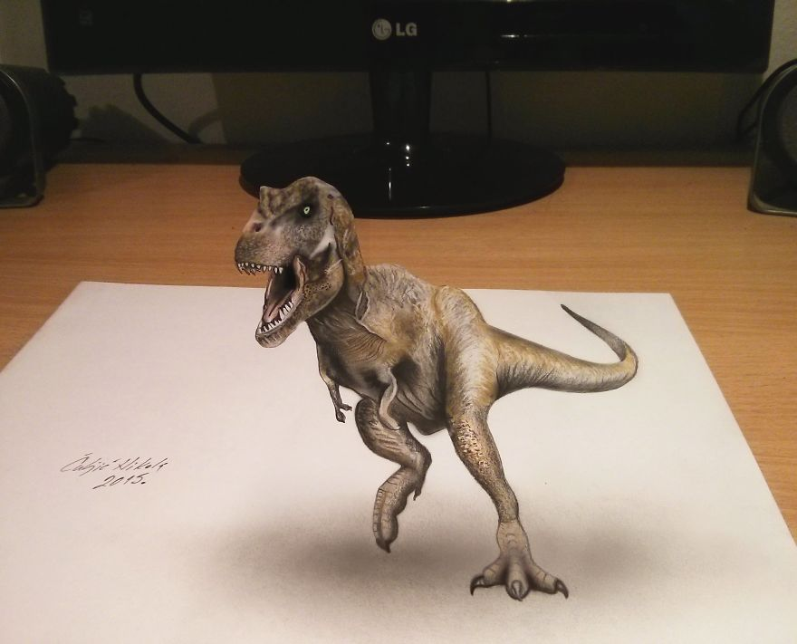 3D Drawings That I Create To Confuse People
