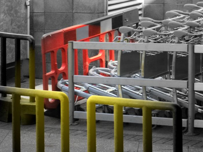 "Off Your Luggage Trolley (a Variation Of ""off One's Trolley"")"