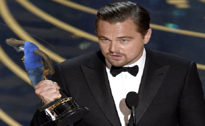 Leonardo Got His Award