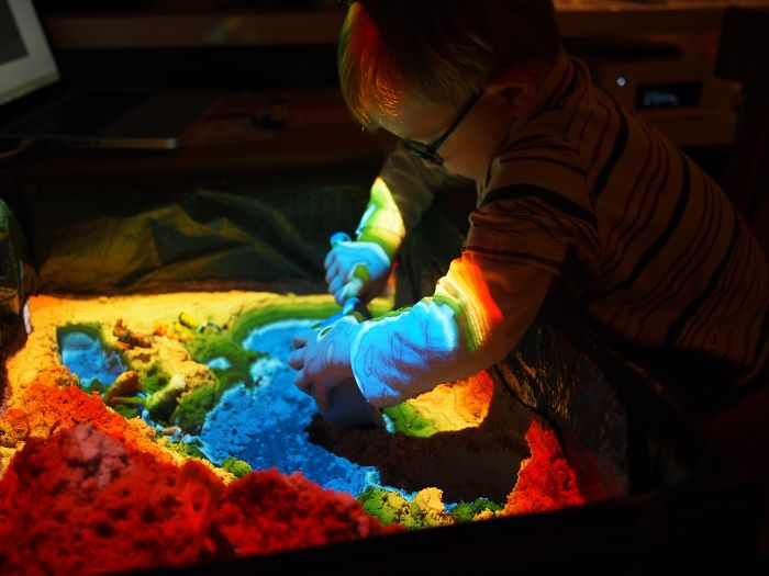 A Magic Sandbox I Made For My 3 Year-Old Son's Birthday