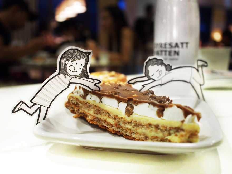 Neng's Favorite Almond Chocolate Cake From Ikea. Nom!