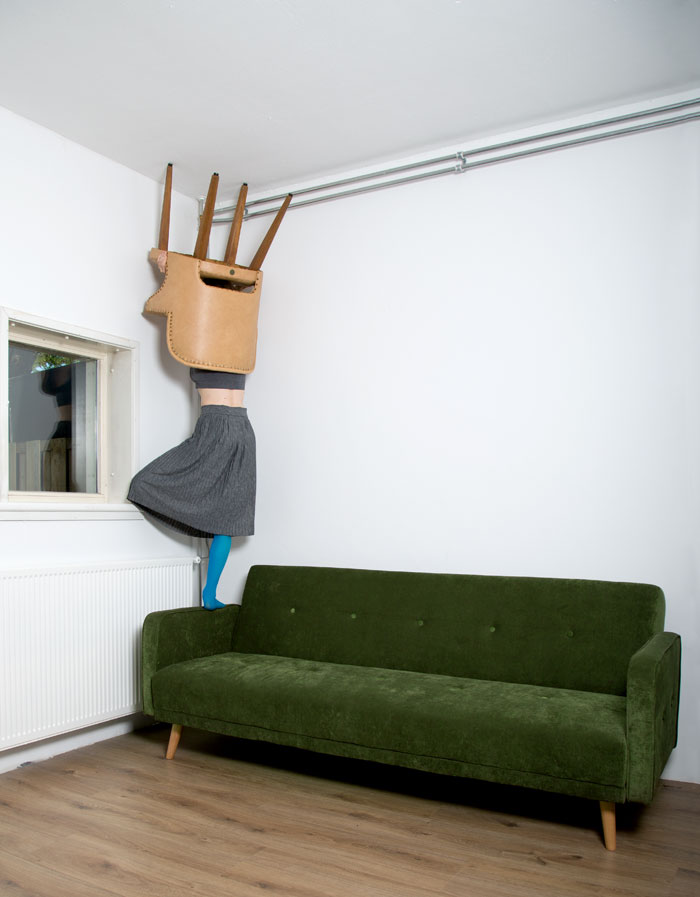 Pillars Of Home: I Balance Household Objects Into Floor-To-Ceiling Sculptures