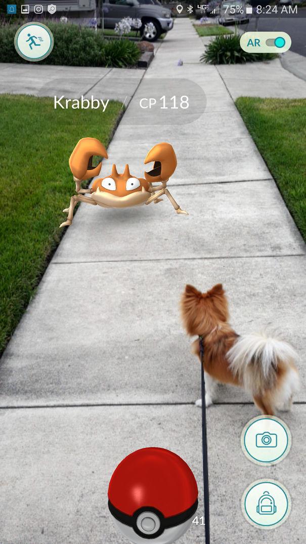 Puppy Against Krabby