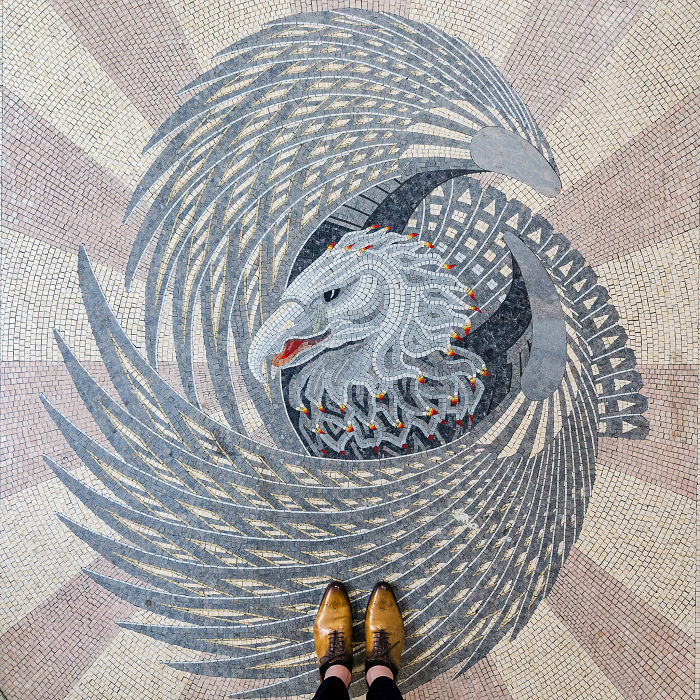 The Stunning Beauty Of London Floors Or Why You Should Look Down While Travelling